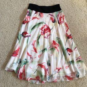 Beautiful Jones New York Floral Silk Skirt!